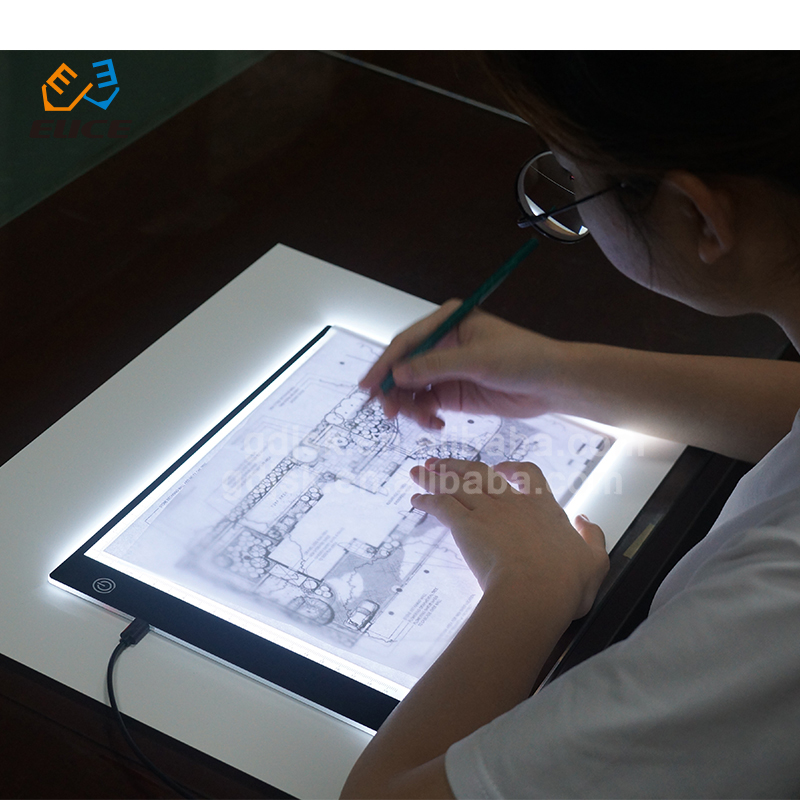 LED Tracing Light Box Board Art Tattoo A3 A4 A5 Drawing Copy Pad Table+USB Cable