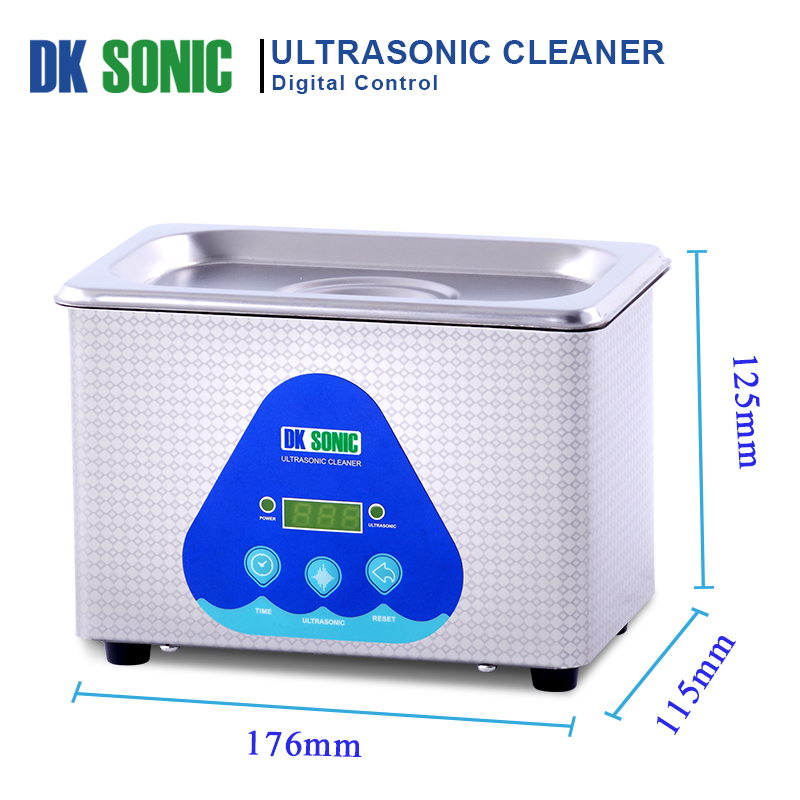 Image 4 - DK SONIC Digital 800ml Ultrasonic Cleaner 35W 42KHz Household Ultrasound Bath for Jewelry Watch Chains Eyeglasses Coins Dental-in Ultrasonic Cleaners from Home Appliances