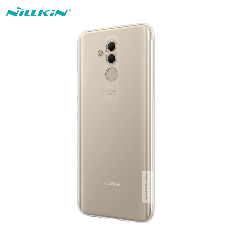 Case For Huawei Mate 20 Lite Cover NILLKIN Ultra Thin Clear Soft Silicone Phone Cases For Huawei Mate 20 Lite Nature TPU Series in Fitted Cases from Cellphones Telecommunications