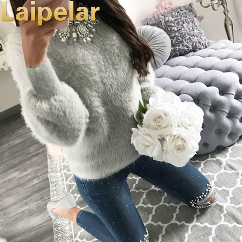 Women Sweatshirts Long Sleeve Autumn Knitwear Jumper Pullover Casual Tops New Fashion Clothing Hoodies Laipelar