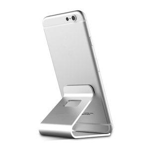 Image 5 - Mobile unterstützung Telefon Halter Metall Stehen Aluminium Legierung Für Apple iPhone 11 12 Pro Max mini 7 8 6 6S Plus halterung desktop Fall