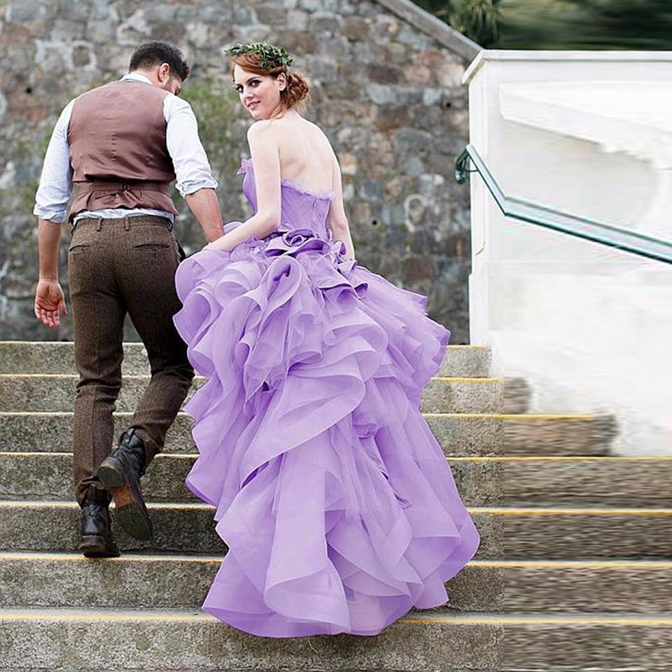 list detail lavender lace wedding dress lavender wedding dress Colored Wedding Dresses Lavender A Line Wedding Gowns Lace