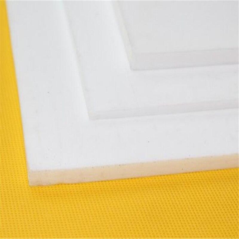 1pcs PTFE Sheet Teflon Plate polytef plate size custom-made 200mm*200mm*1.5mm 1pcs ptfe round sheet teflon plate polytef plate size dia 5 08cm thickness 1 1cm