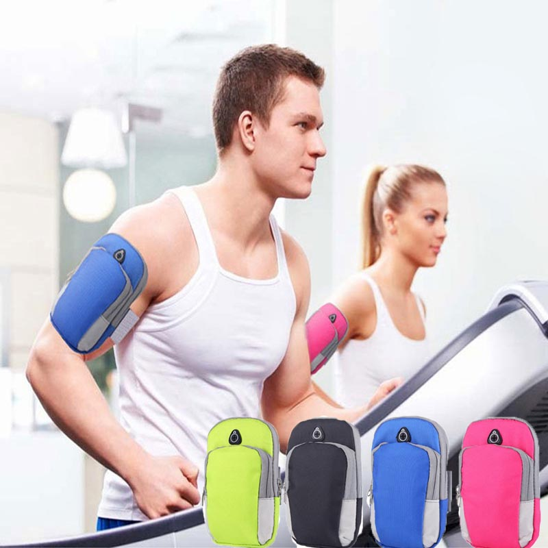 Universal Sports Phone Bag Armband Cover Waterproof Running  Armbag Mobile Phone Earphone Keys Arm Pouch For IPhone For Samsung