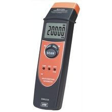 Multi-function speed recorder, SM8238 / frequency with USB measurement tachometer