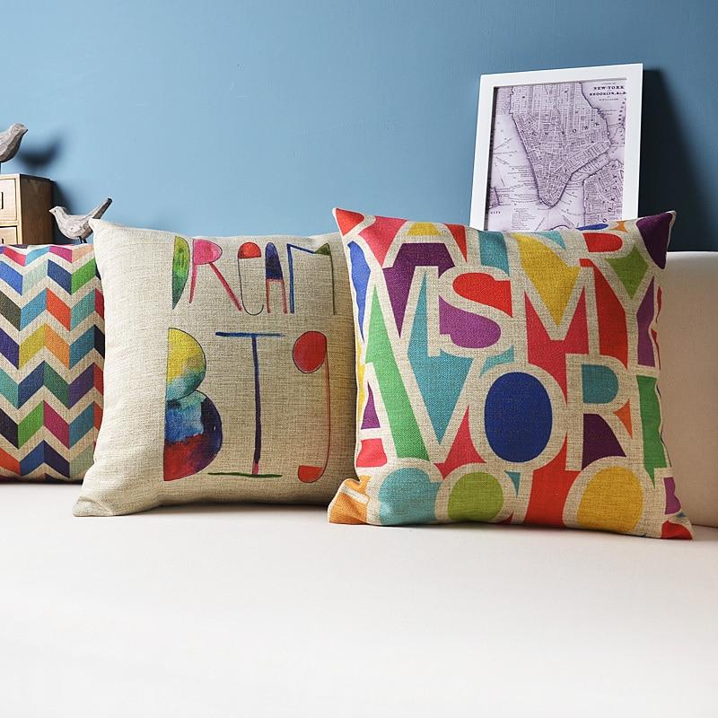 New Sofa Decorative Cushion Throw Pillows Chair Home Pillow Decoration Fundas Cojines Vintage