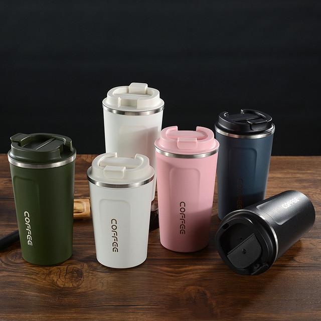 Multicolor BPA Free Coffee Travel Mug