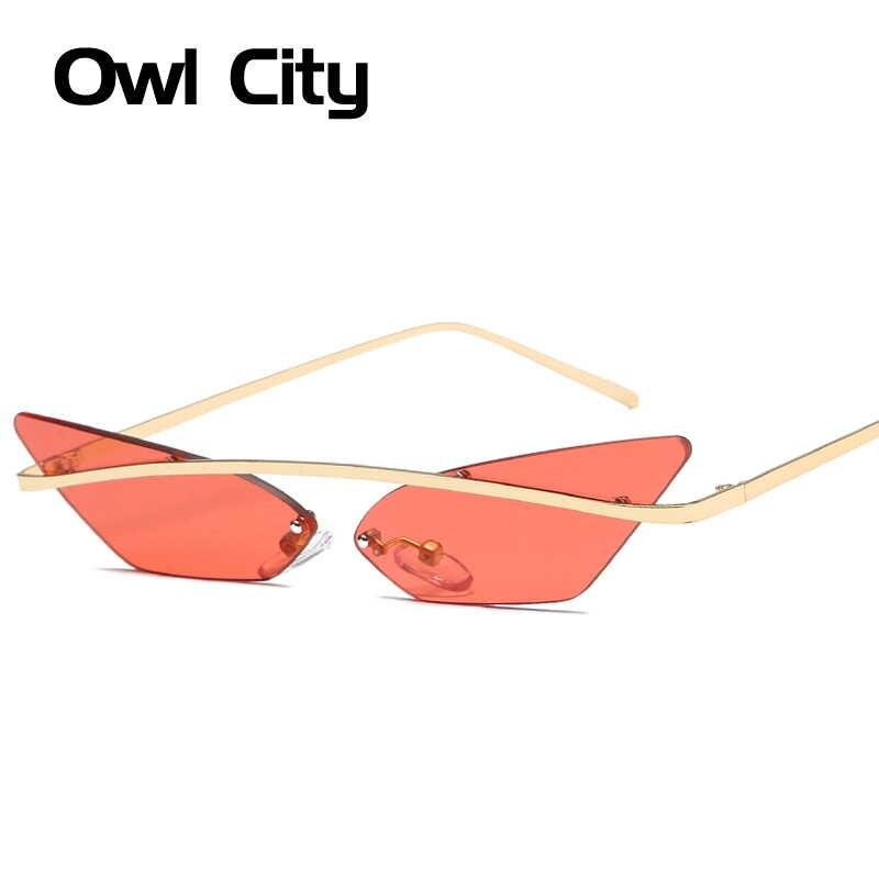f4061368f074 ... Owl City 2019 Cat Eye Sunglasses Women Retro Female Sun Glasses  Trending Styles Vintage Ladies Brand ...