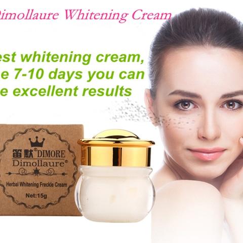 Dimollaure Strong Removal melasma whitening cream Freckle speckle sunburn Spots pigment Melanin scar removal face cream Dimore Lahore