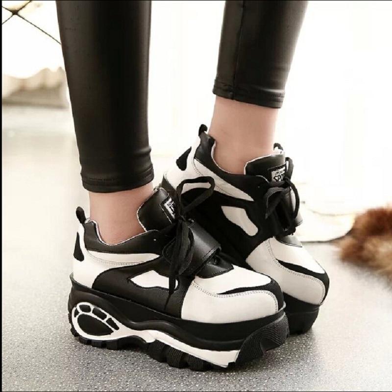 24cbb4e1bb66 HOT SALE Women Creepers Shoes 2015 Japanese style Breathable Harajuku  Platform Shoes x518 50
