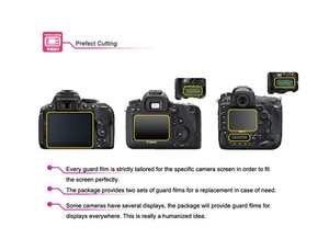 Image 5 - JJC LCP 200D LCD 가드 필름 화면 보호기 (2) 애완 동물 커버 캐논 EOS 200D/반란군 SL2/키스 X9