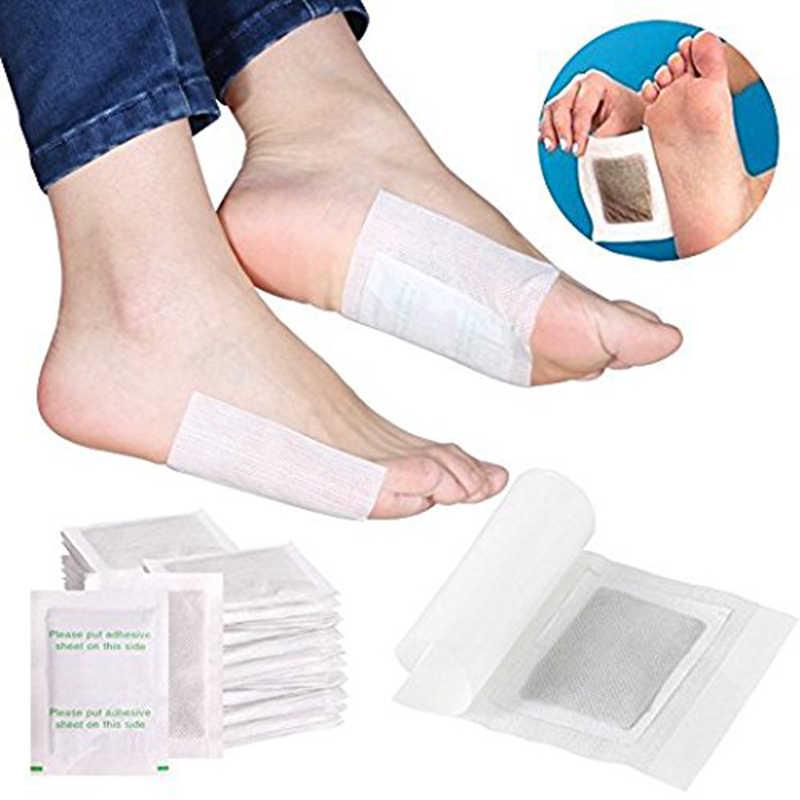 10 ชิ้น/ถุงลดน้ำหนัก Detox Foot Pads Slimming Detoxify ลบสารพิษสุขภาพเท้า Care Relax Body ช่วย Sleep Skin Care TSLM2