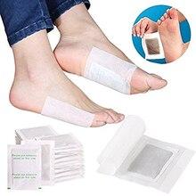 10 unids/bolsa de pérdida de peso Detox almohadillas para los pies adelgazantes eliminación de toxinas cuidado de los pies salud relajante cuerpo ayuda a dormir cuidado de la piel TSLM2
