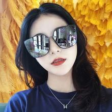 Retro Square Sunglasses Women Brand Designer  Metal Frame Oversized Sun Glasses Fashion Female UV400 rivet