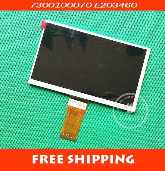 E203460 LCD Screen Panel für 7 Tablet PC x18 lixin s16 n77 Sprüche n17 lcd-bildschirm kalender 7300101466 E231732 LCD display