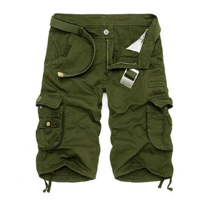 Dinamico Militare Degli Uomini Di Bicchierini Uniformi Fan Esercito Camuffamento Tattico Shorts Da Uomo In Cotone Sciolto Grande Tasca Di Lavoro Casual Corto Più Formato