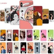 Lavaza Fashion art Hard Phone Cover for Xiaomi Redmi Note 5 6 7 Pro Plus 5A 6A Case