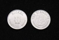 Nickel Metal Collection Elements Commemorative Coins Series Pure Nickel 99 5 Diameter 20mm Are Heavy 4