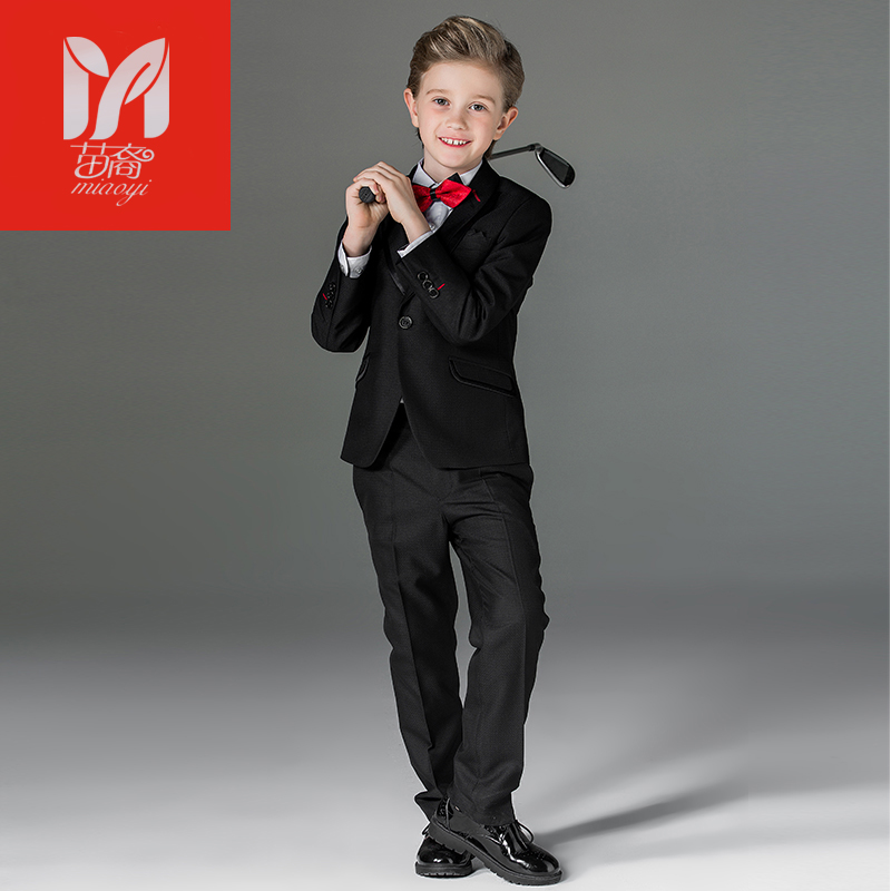2017 children's leisure clothing sets kids baby boy suits Blazers vest gentleman clothes for weddings formal clothing