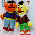 2pcs/lot Hot Selling Cartoon Plush Toys Sesame Street Ernie And Bert Creative Doll Stuffed Toy Super Quality  Free Shipping