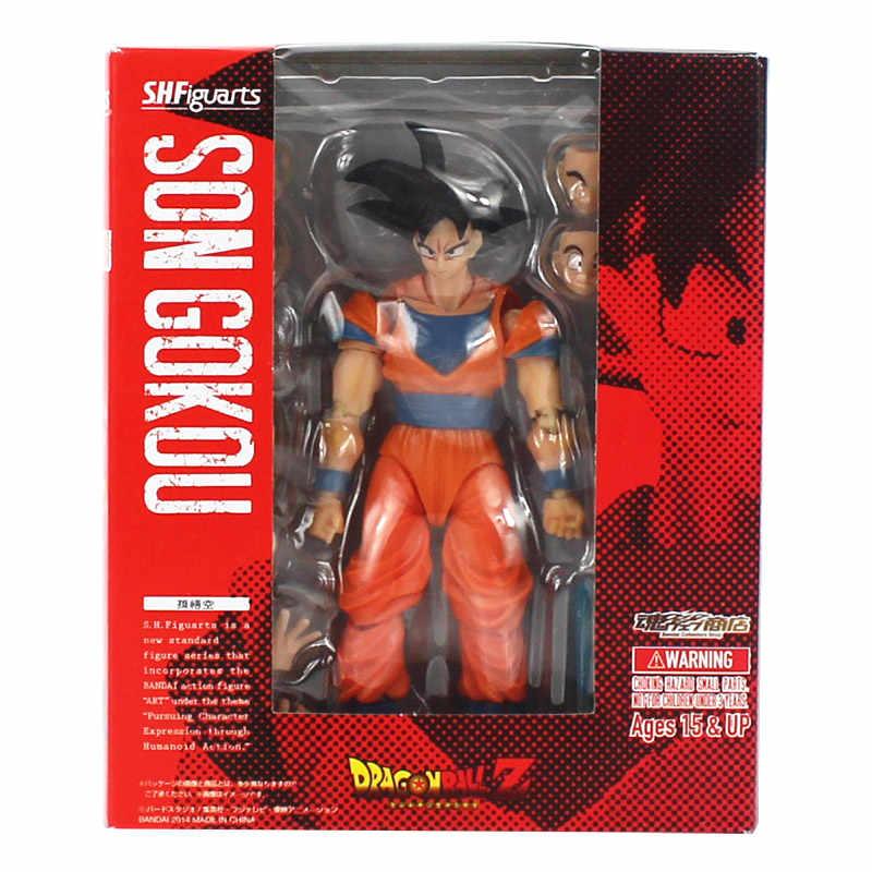 Dragon ball z dbz filho gokou goku gohan vegeta vegetto pvc figura de ação brinquedo modelo bonecas 15 17 17cm