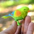Новый 1 шт. Plastic Sound Голосового Управления Активировать Щебетуны Пение Птиц Смешная Игрушка Подарок для детей