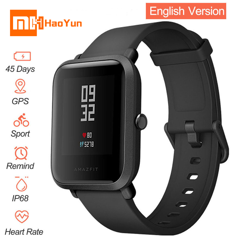 Original Xiaomi Huami Amazfit Bip BIT PACE Lite Youth Verison Smart Watch Mi Fit IP68 Waterproof Glonass+GPS English Language [english version] xiaomi huami amazfit bip bit pace lite youth mi fit ip68 waterproof glonass smart watch gps english language