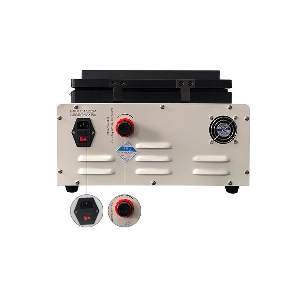 TBK LCD attrezzatura per riparazione 3 in 1 colla rimuove macchina + - Set di attrezzi - Fotografia 5