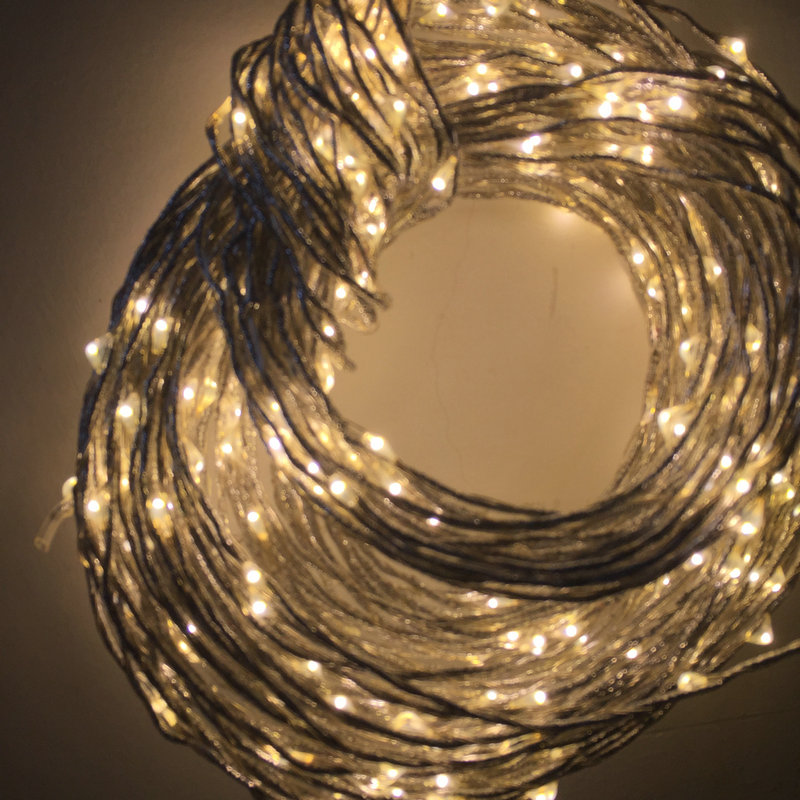 2m 380led curtain string fairy light mini vine bulb copper wire waterproof dc12v christmas xmas wedding tree decor warm white in event party from home