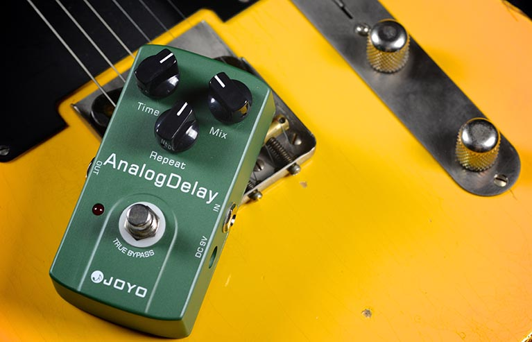 Joyo JF-33 Analog Delay Guitar Effect Pedal with Free Pedal Case joyo jf 33 analog delay pedal guitar pedal 1 pc pedal connector guitar effect pedal