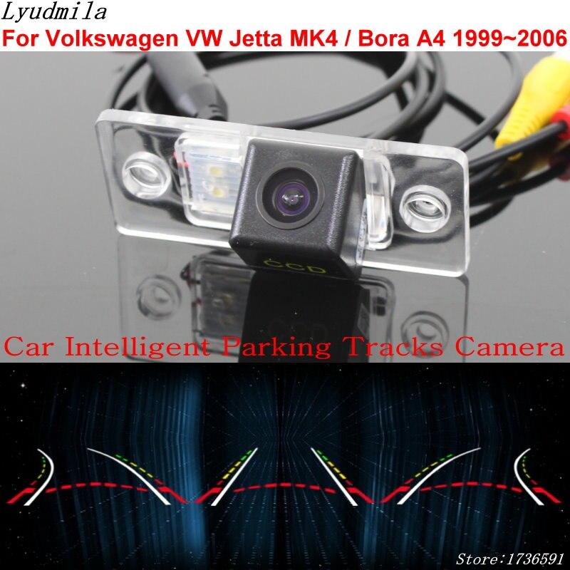 Lyudmila Car Intelligent Parking Tracks Camera FOR Volkswagen VW Jetta MK4 Bora A4 1999 2006 Car