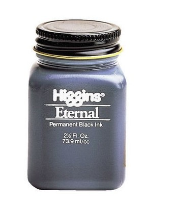 Fountain pen ink bottle  Original Higgins Eternal 73.9ml   Free Shipping parker 88 maroon lacquer gt fine point fountain pen