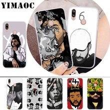 цена на YIMAOC Hip Hop Rapper Dope Print Rubber Soft Case for Huawei P30 P20 Pro P10 P9 P8 Lite P Smart Cover
