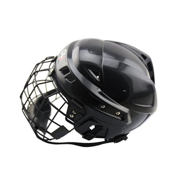 New Multi-functional Custom Made Head Protective Gear Ice Hockey Helmet with CE Certificate magideal ice hockey helmet soft eva liner with cage for player hockey face shield xs s m l xl