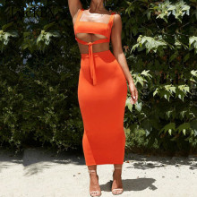 Sexy Two Piece Set 2 Women Outfits Crop Top and Skirt Bodycon Matching Sets Summer Clothes 2019 Female