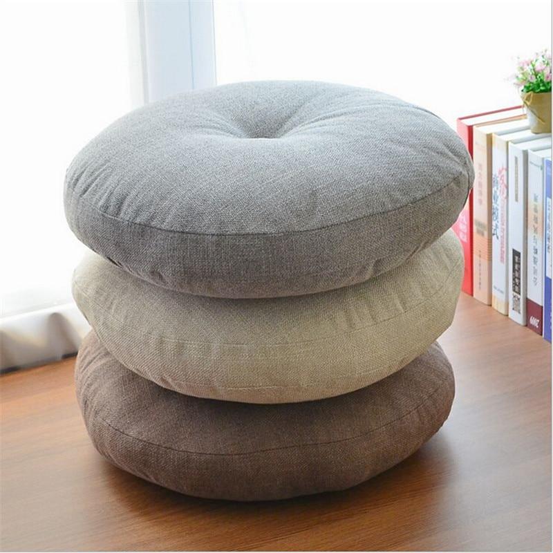 Japanese linen thick futon cushion / breathable play cushion / Zen mat / floating window pad / yoga mat /...  yoga mat zen Japanese linen thick futon cushion breathable play cushion font b Zen b font font b mat