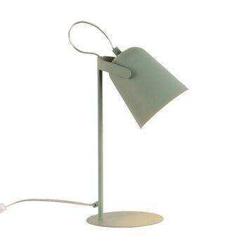 Iskandinav minimalist yaratıcı kişilik macarons masa lambası Yatak Odası Oturma Odası lampara sobre Çalışma masa okuma lambası