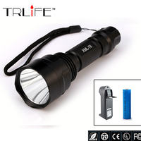 Lantern C8 CREE Led Flashlight 3800 Lumens Lanterna Led CREE XM L2 Torch Light Camping Flash