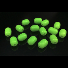sales 100pcs WEIHE FISHING Oval Soft Luminous Fishing Beads Sea Fishing  Floating Float Tackles