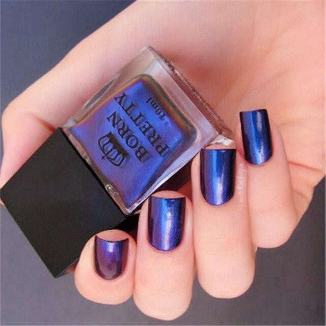 Belle Fille Gel Nail Polish Deep Blue Color Coat Need Top Winter Loving