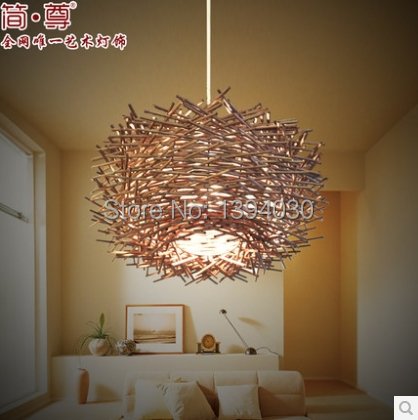 The Bird S Nest Chandelier Creative Personality Branches Pendent Lamp Dia 400mm