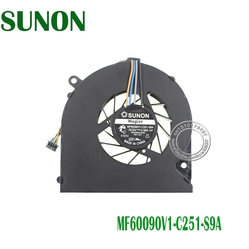 New Laptop Cpu Cooling Fan For HP ProBook 4230 4230S 4231S DV4-4270US DV4-4000 MF60090V1-C251-S9A