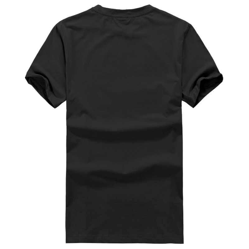 2018 Fashion casual streetwear Nieuwe Komen Uit Weg Musal Korte Sve mannen Bla T-Shirt Maat S tot 5XL 100% katoenen Shirts