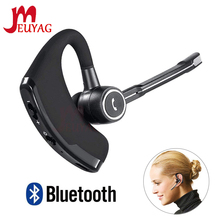 MEUYAG V8S Business Bluetooth Headset Wireless Earphone Car Bluetooth V4.1 Phone Handsfree earphones with mic For iPhone Xiaomi