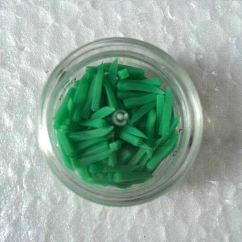 1 Hộp Dùng Một Lần Y Tế Nha Khoa Răng Nêm Chất Liệu Nhựa 4 Màu 4 Kích Thước Nha Sĩ Sản Phẩm