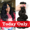 Peruvian Virgin Hair Body Wave 8A Grade Virgin Unprocessed Human Hair Weave Bundles Peruvian Body Wave Virgin Hair Bundle Deals