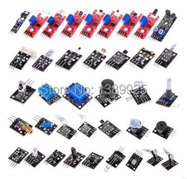 Final 37 em 1 Sensor Módulo Kit para & Raspberry Pi