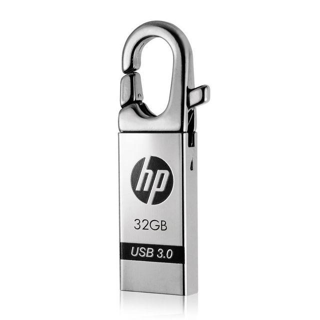 Usb de memória flash drive 32 gb pendrive de alta velocidade hp x752w vara Pen Drive Capacidade Real U Vara 32 GB Personalizado Livre grátis