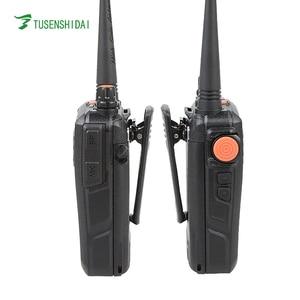 Image 3 - חם למכור 5 w 128 ערוצים VHF מכשיר קשר 66 88 mhz מקצועי כף יד שתי דרך משדר