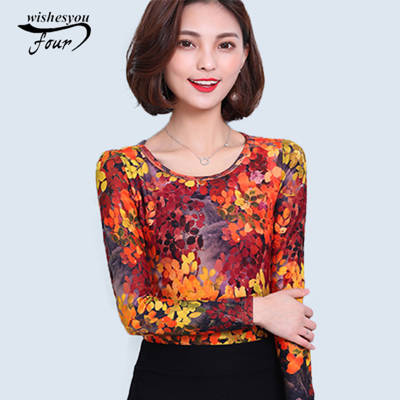 Long sleeve floral shirt tops casual style women 39 s tops for New shirt style for girl